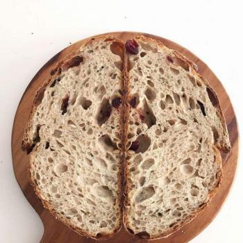 Ah Huat  Rustique malt loaf second slice