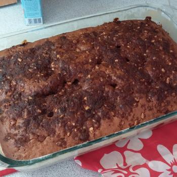 Alaskan Kaihanu D.P. Herman Sourdough Friendship Cake first slice