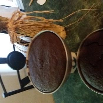 Ana Lorenzo Chocolate sour dough cake second slice