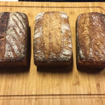 Barbara Whole wheat breads second slice