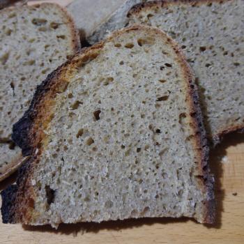 Baron Whole Wheat Bread second slice