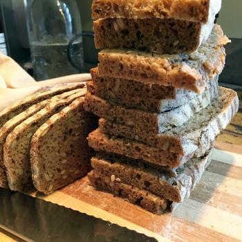 Bernie 100% whole grain breads second slice