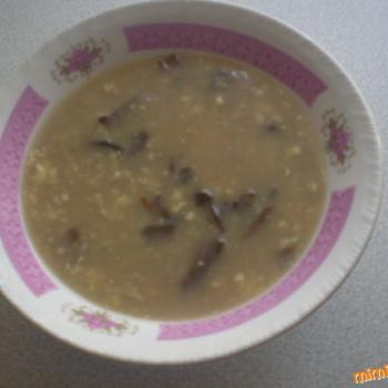 Bohous Krkonoske Kyselo (soup) first slice