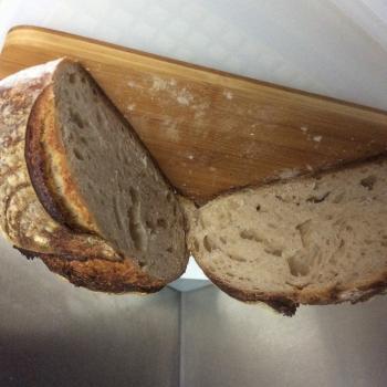 Connie Sourdough bread second slice