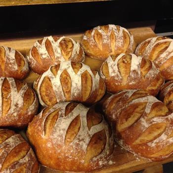 Dagmar Sourdough bread second slice