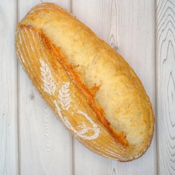 DELTA SAN FRANSICO SOURDOUGH  first slice