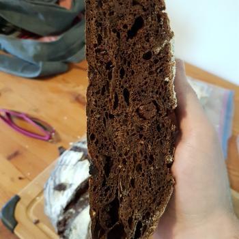 Fievel Chocolate Sourdough  second slice