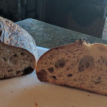 Hagrid Sourdough bread second slice