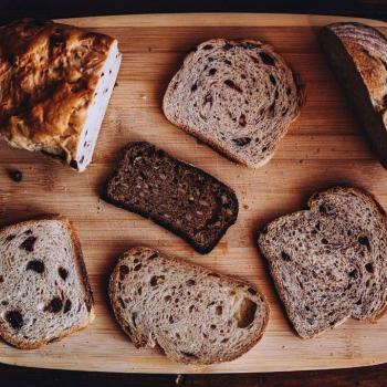 Hans Rye beer loaf second slice