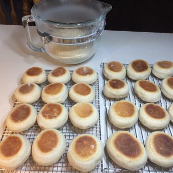 Iris  Sourdough English Muffins second overview