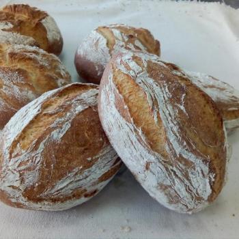 J C PONCE coffee bread second slice