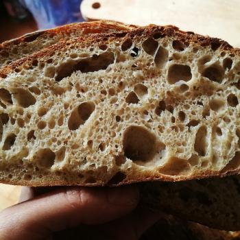 Jan II Interesting shaped breads first slice