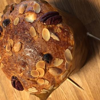 Julian Bread, Panettone etc. first slice