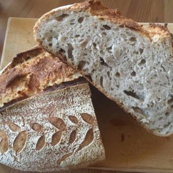 Juliska White flour bread  second slice