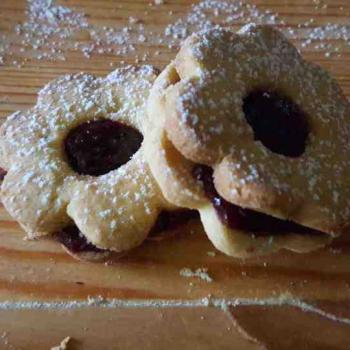 Kvásoček Cakes with jam. second overview