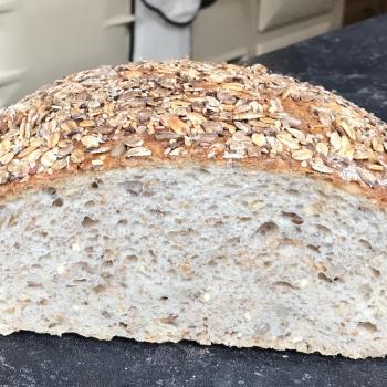 Levine Multigrain sourdough bread  second slice