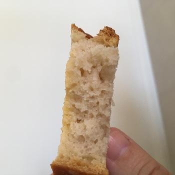 Lulu Sourdough loaf first slice