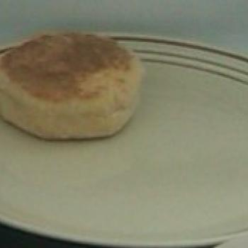 MacPike Family Starter English Muffins second slice