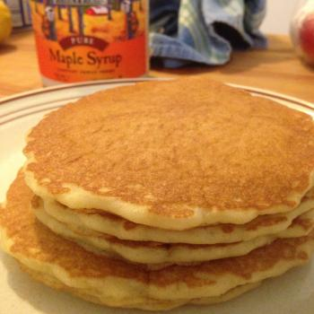 MacPike Family Starter Sourdough Pancakes first overview