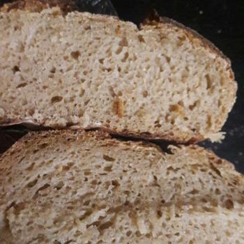 Mastani Boule and soft sandwich loaf second slice