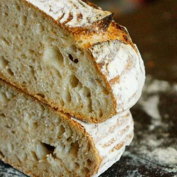 Micro volume 100% wheat by Piotr Polomski Wheat breads second slice
