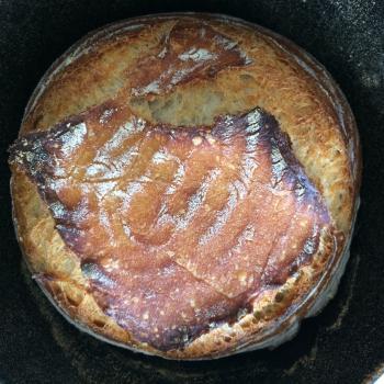 Mishka Bread first slice