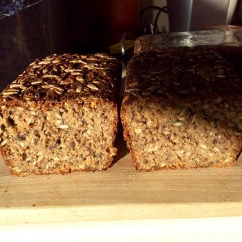 Murdo Danish style seeded rye bread first overview