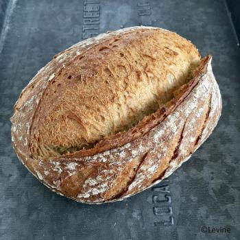 Nr 1 Sourdough bread with kamut first overview