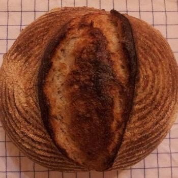 Number four Ristic bread first slice