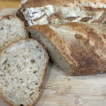 Pica Multigrain bread second slice