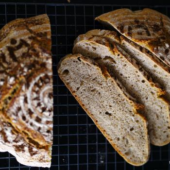 Ralph Dutch pain de campagne first slice