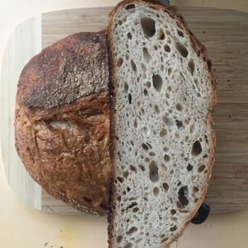 Ryean Wholemeal Rye sourdough second overview