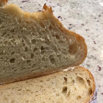 Sassy Cincy Cincinnati Sourdough Boules first slice