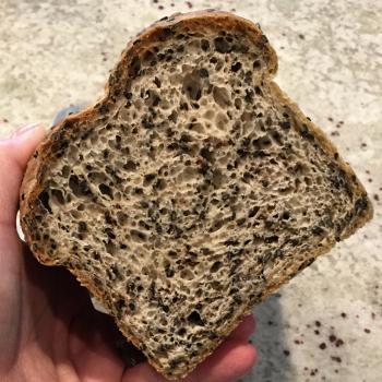 Sassy Cincy Sourdough Black Sesame Loaf  second overview