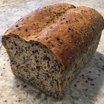 Sassy Cincy Sourdough Black Sesame Loaf  second slice