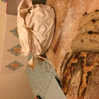 Steve Bread, pizza, focaccia, tea cakes, pancakes, pretzels first slice