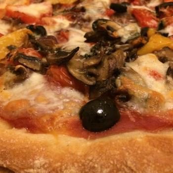Steve Bread, pizza, focaccia, tea cakes, pancakes, pretzels second slice