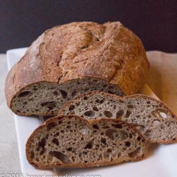 Sure Rugnar Sourdough Rye Bread second slice