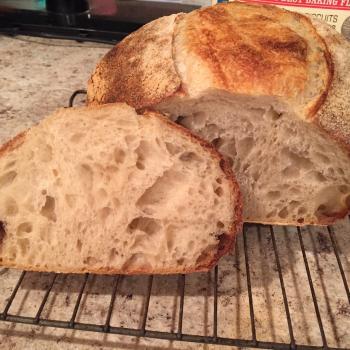 Tallulah Bread first slice
