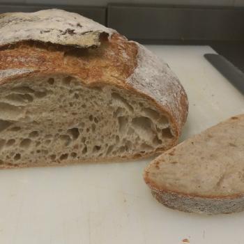 Tam buğday ekşimaya Tartine bread first overview