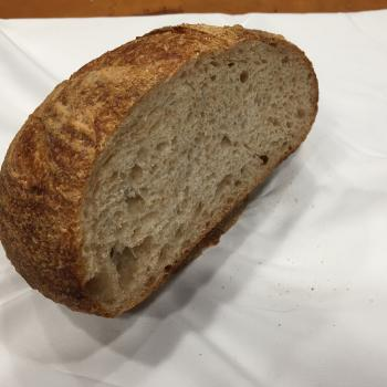 Tartine Starter FriendBread first slice