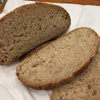 Tartine Starter FriendBread second slice