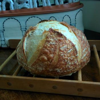The baby House loaves first slice