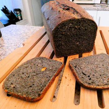 The Hulk Experimental bread. second slice
