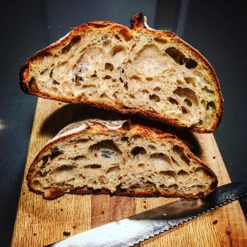 The Other Woman Recent loaves (2020) first slice