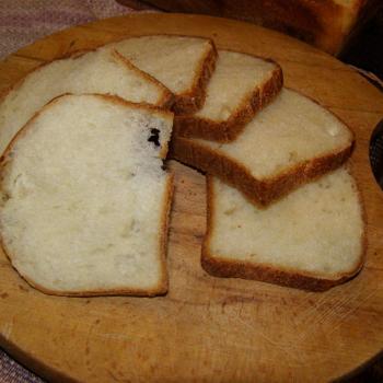 vilekula Hokkaido mik bread first slice