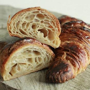 Vitinho Croissants first slice