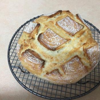 Wheatbelt Fester Round Bread second slice